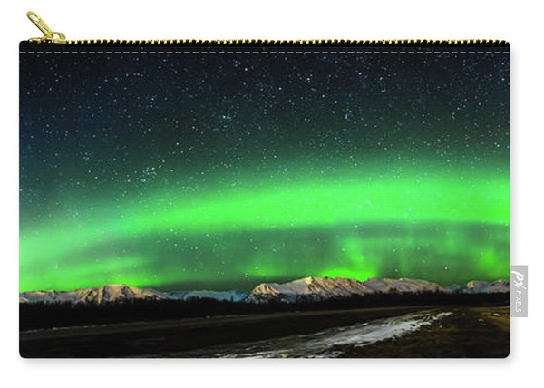 Little House Under The Aurora Carry-all Pouch