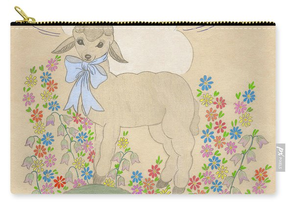 Little Lamb Lightened Carry-all Pouch