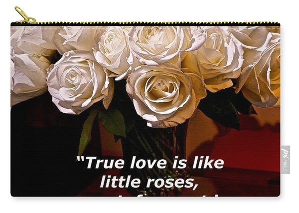 Little Love Roses Carry-all Pouch
