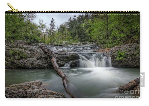 Little Missouri Falls 3 Carry-all Pouch