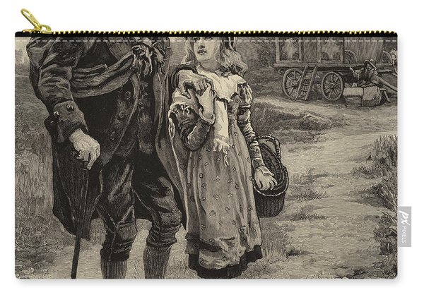 Little Nell And Her Grandfather  Carry-all Pouch