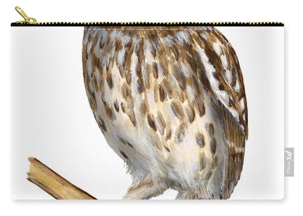 Little Owl Or Minerva's Owl Athene Noctua - Goddess Of Wisdom- Chouette Cheveche- Nationalpark Eifel Carry-all Pouch