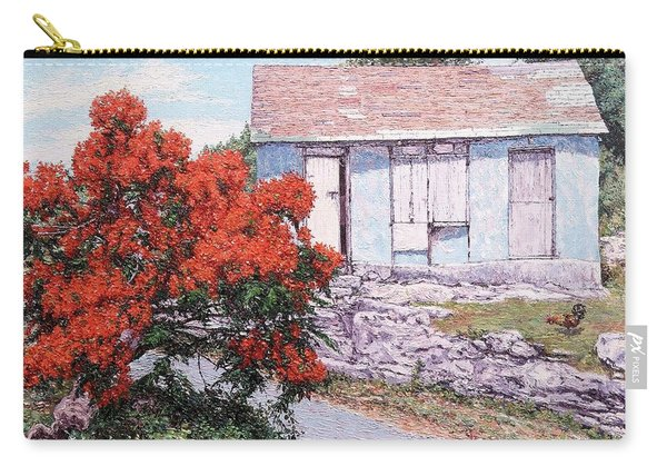 Little Poinciana Carry-all Pouch