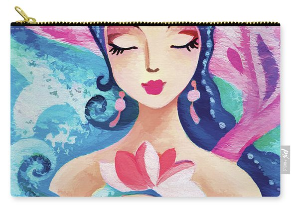 Little Quan Yin Mermaid Carry-all Pouch