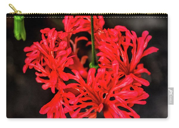 Little Red Flower Carry-all Pouch
