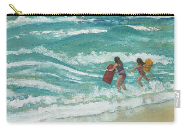 Little Surfers Carry-all Pouch