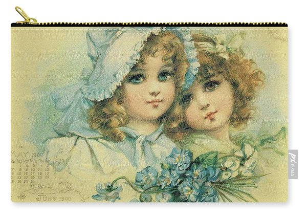 Little Sweethearts 6 Carry-all Pouch