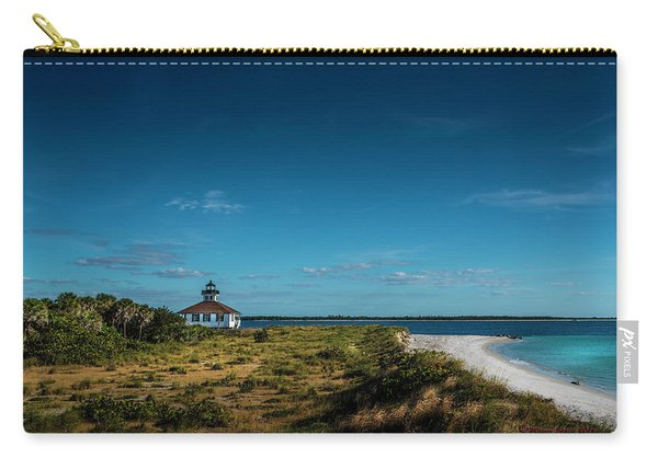 Little White Lighthouse Carry-all Pouch