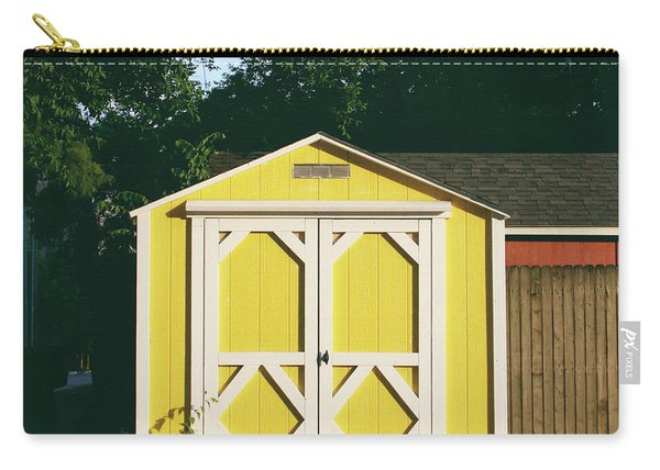 Little Yellow Barn- By Linda Woods Carry-all Pouch