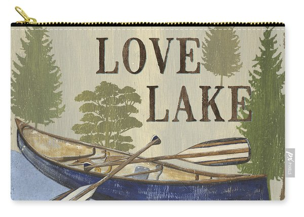 Live, Love Lake Carry-all Pouch