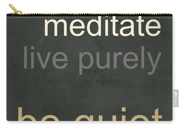 Live Purely Carry-all Pouch