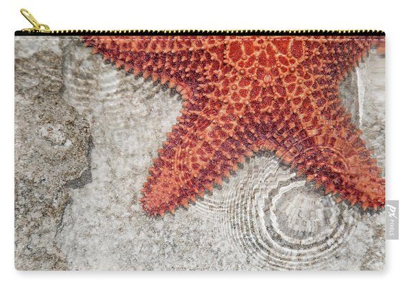 Live Starfish Natural Habitat Carry-all Pouch
