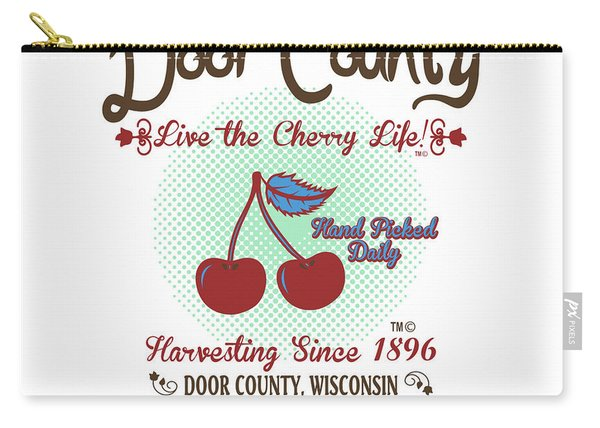Live The Cherry Life Carry-all Pouch