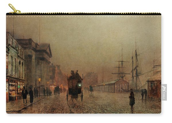 Liverpool Docks By Moonlight Carry-all Pouch