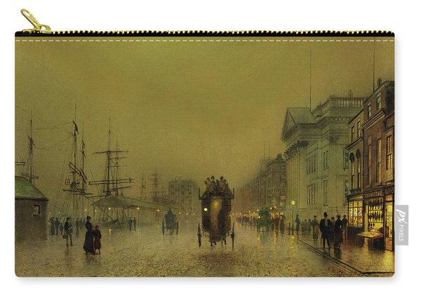 Liverpool Lights, Salthouse  Carry-all Pouch