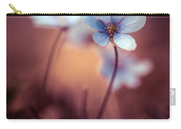Carry-all Pouch featuring the photograph Liverworts by Jaroslaw Blaminsky