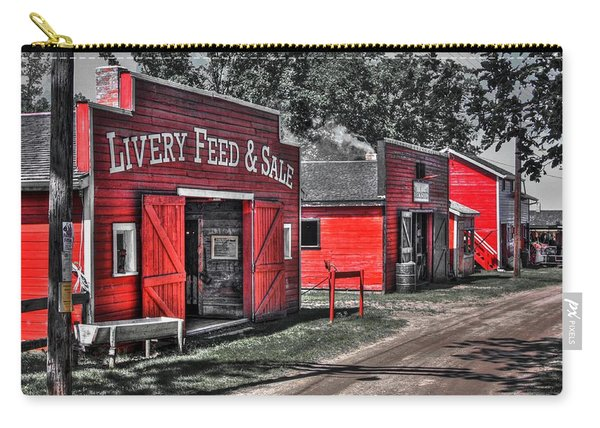 Livery Feed Carry-all Pouch