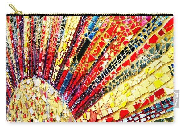 Living Edgewater Mosaic Carry-all Pouch