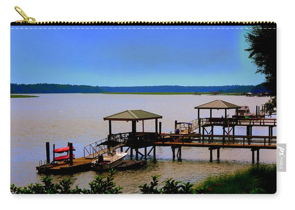 Living In The Lowcountry Carry-all Pouch