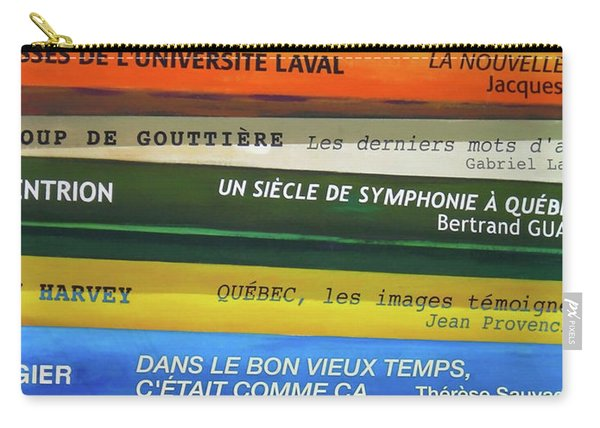 Livres ... Carry-all Pouch