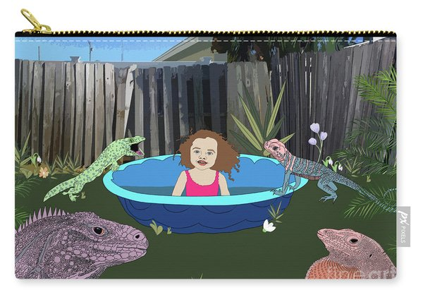 Lizard People Carry-all Pouch