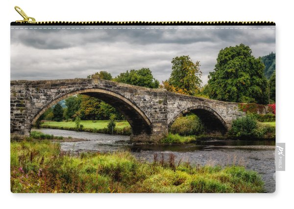Llanrwst Bridge Panorama Carry-all Pouch