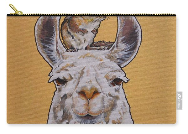 Llois The Llama Carry-all Pouch