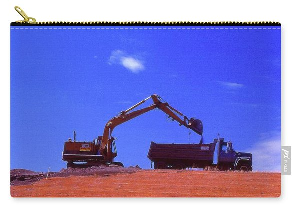 Loading The Dump Truck Four  Carry-all Pouch