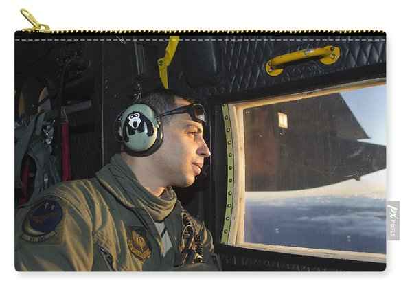 Loadmaster At Work As Lookout Carry-all Pouch
