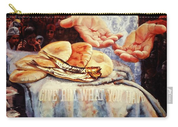 Loaves And Fishes 2 Carry-all Pouch