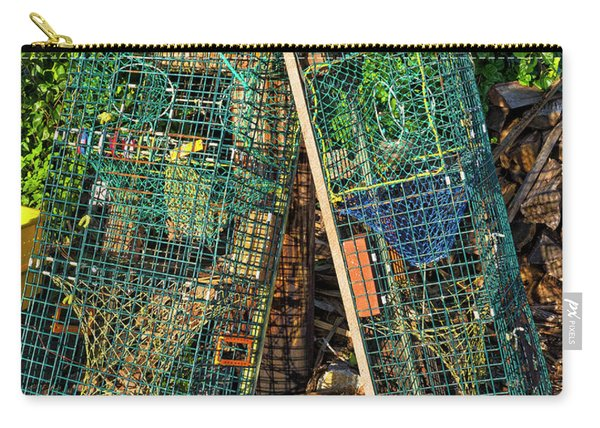 Lobster Pots - Perkins Cove - Maine Carry-all Pouch