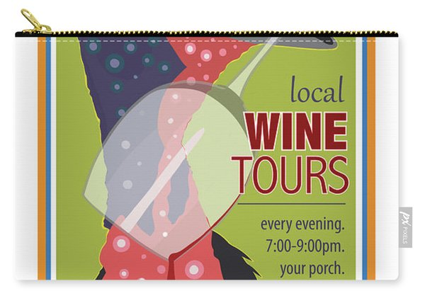 Local Wine Tours Carry-all Pouch