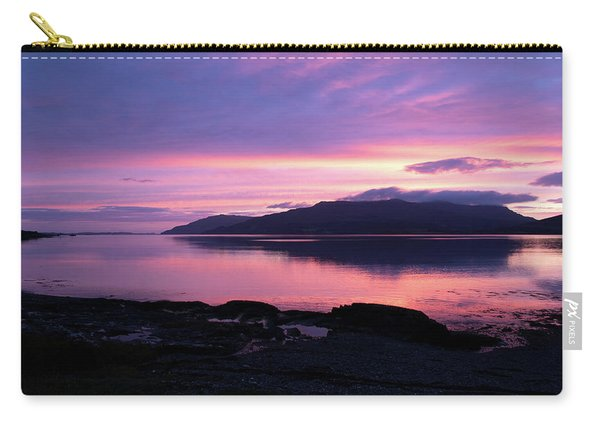 Loch Scridain Sunset Carry-all Pouch