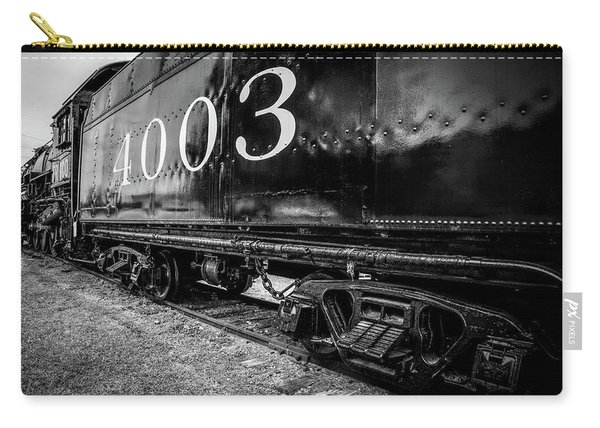 Locomotive Engine Carry-all Pouch