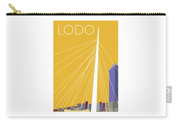 Lodo/gold Carry-all Pouch