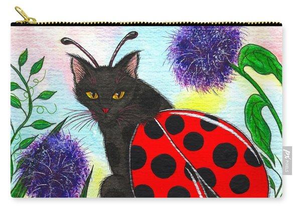 Logan Ladybug Fairy Cat Carry-all Pouch
