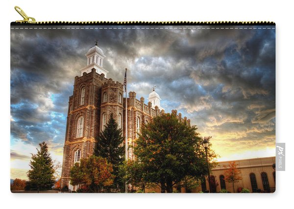 Logan Temple Cloud Backdrop Carry-all Pouch