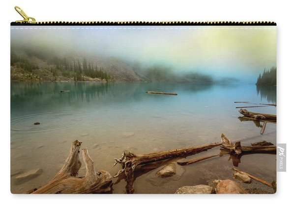 Logs And Boulders Moraine Lake Banff II Carry-all Pouch