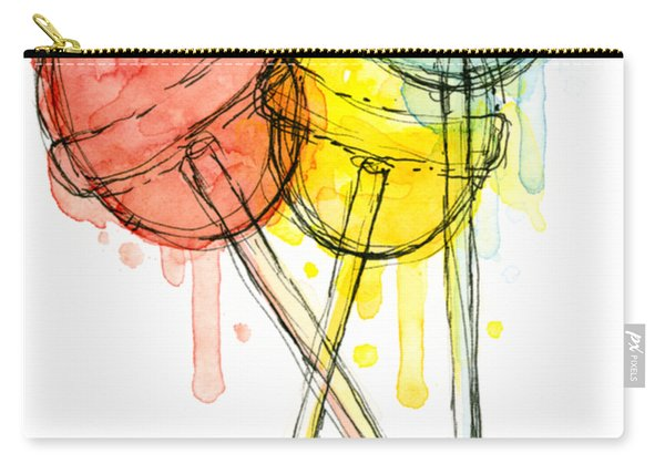 Lollipop Candy Watercolor Carry-all Pouch