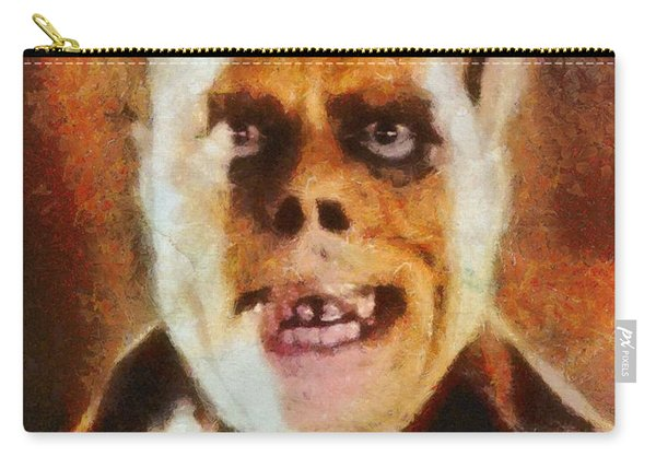 Lon Chaney Sr, As The Phantom Of The Opera Carry-all Pouch