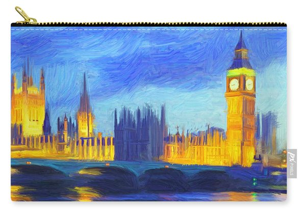 London 1 Carry-all Pouch