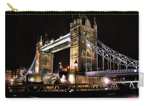 London Bridge At Night Carry-all Pouch