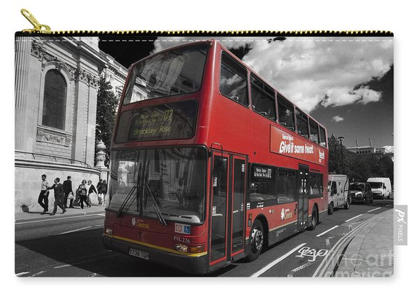 London Bus Carry-all Pouch