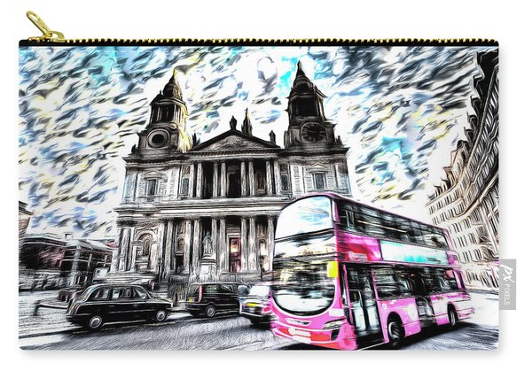 London Classic Art Carry-all Pouch