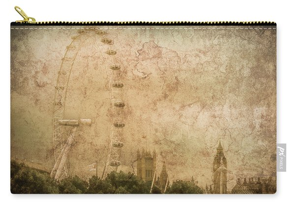 London, England - London Eye Carry-all Pouch