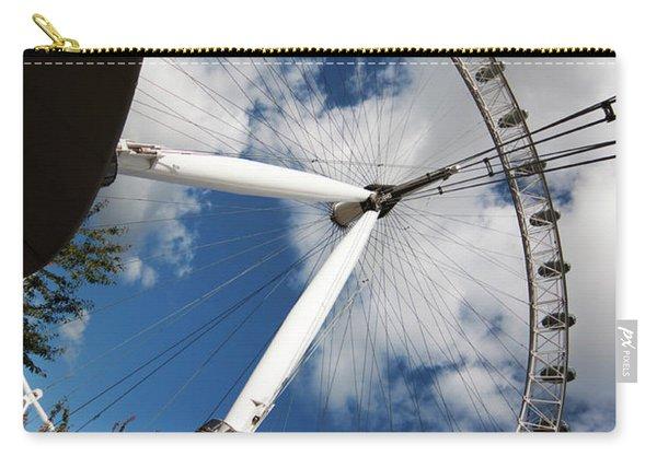 London Ferris Wheel Carry-all Pouch