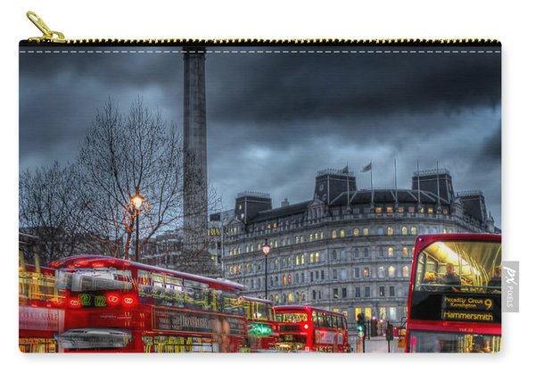 London Red Buses Carry-all Pouch