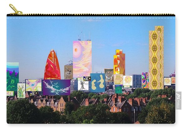 London Skyline Collage 1 Carry-all Pouch