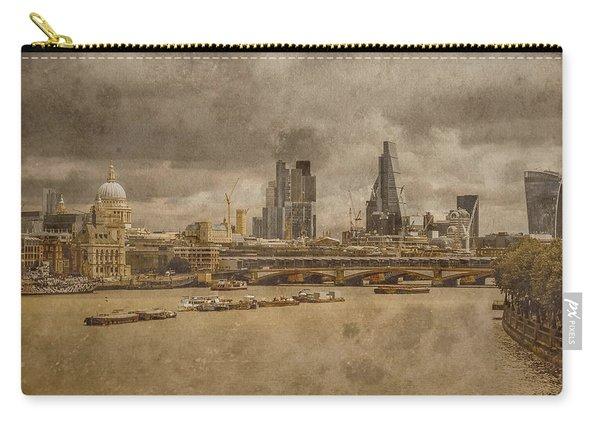 London, England - London Skyline East Carry-all Pouch