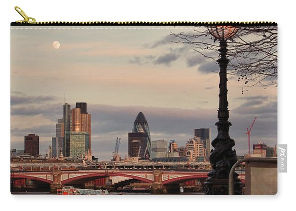 London Skyline From The South Bank Carry-all Pouch